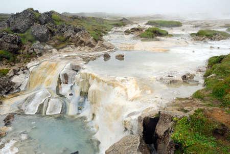 Hveravellir geothermal in Iceland