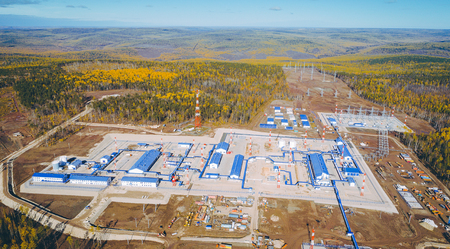 oil pipeline station maintenance russia nature gas