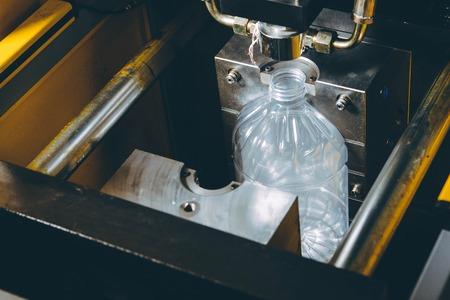 Photo pour Molds for plastic bottles - image libre de droit