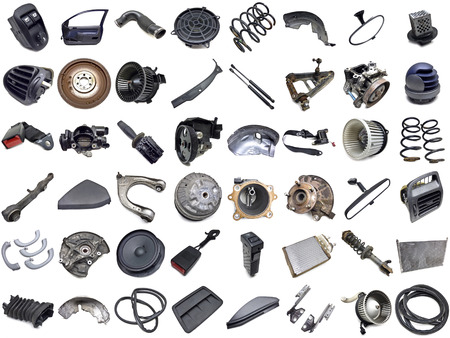 car parts collection