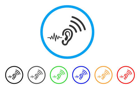 Listen And Transfer rounded icon.