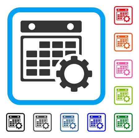 Calendar Configuration icon.