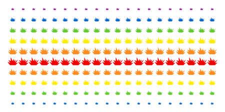 Illustration pour Boom Explosion Colorful pattern - image libre de droit