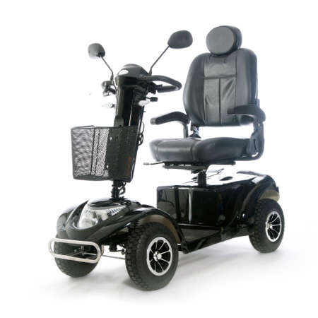 motorized transport fot elderly or physically disabled people