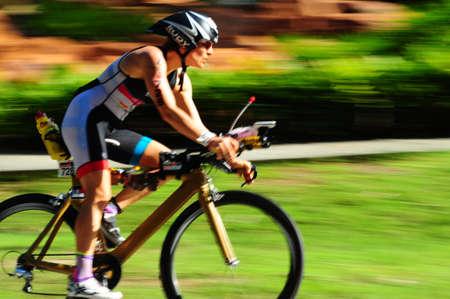 Photo pour Ironman langkawi malaysia 2016 - image libre de droit