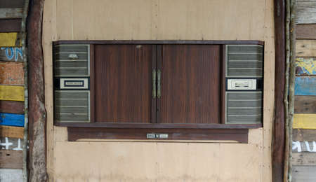 Old television ,Thailand