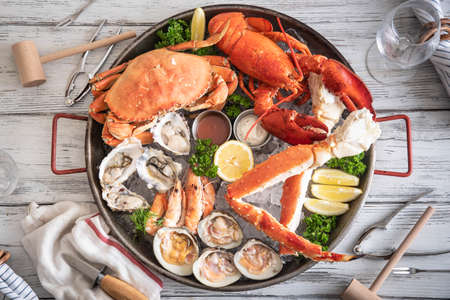 Photo for gorgeous seafood platter image - Royalty Free Image