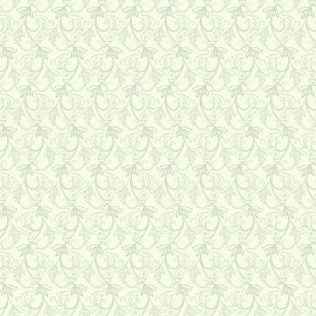 Illustration pour Striped seamless floral background. Vintage Wallpaper vector Illustration - image libre de droit