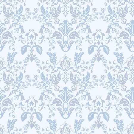 Photo pour vintage floral seamless patten. Classic Baroque wallpaper. seamless vector background - image libre de droit