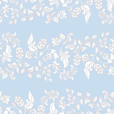Illustration pour Beautiful vintage pattern. Floral vector background - image libre de droit