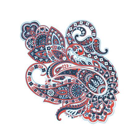 Illustration pour isolated paisley vector ornament - image libre de droit