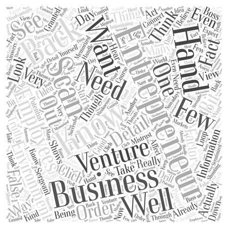 entrepreneur scan word cloud concept