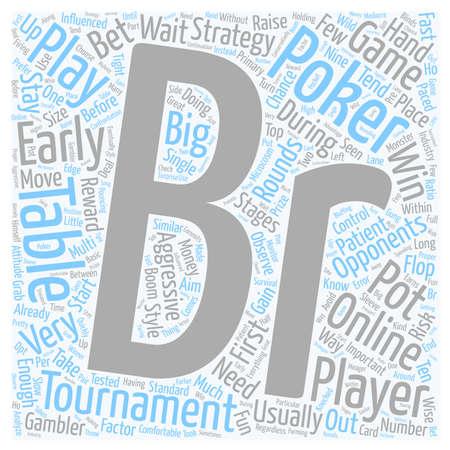 online poker tournaments 1 text background wordcloud concept