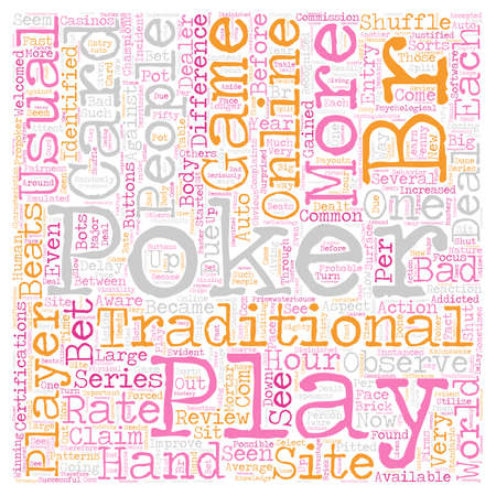 play online poker 1 text background wordcloud concept