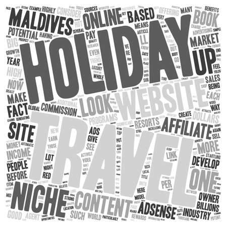 How To Create A Simple Content Website That Yields Income From Multiple Sources text background wordcloud concept