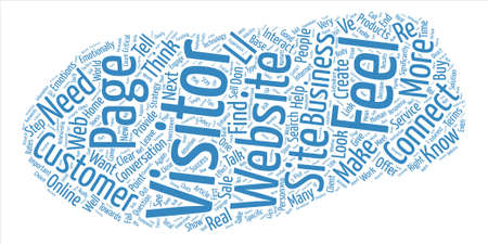 How Does Your Website Make Me Feel text background wordcloud concept