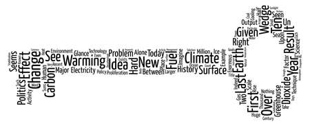 A new science for a new climate Word Cloud Concept Text Background