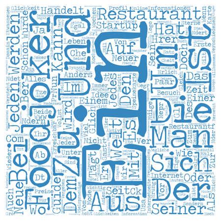 Eine neuer Startup Word Cloud Concept Text Background