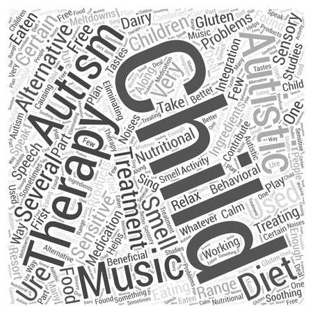 Do Alternative Treatments For Autism >> Alternative Treatments For Autism Word Cloud Concept Royalty Free
