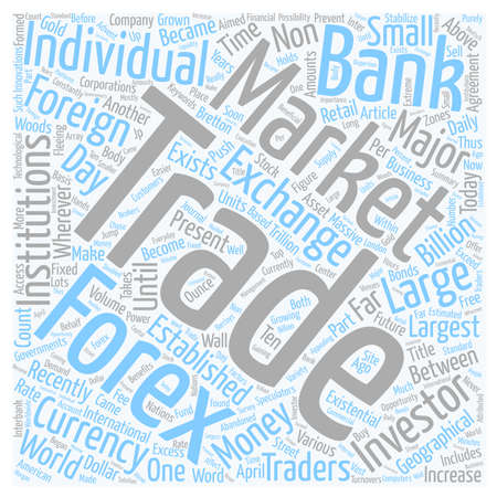 Forex For The Future text background wordcloud concept