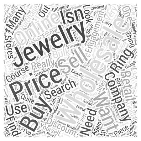 how to buy jewelry wholesale dlvy nicheblowercom Word Cloud Concept