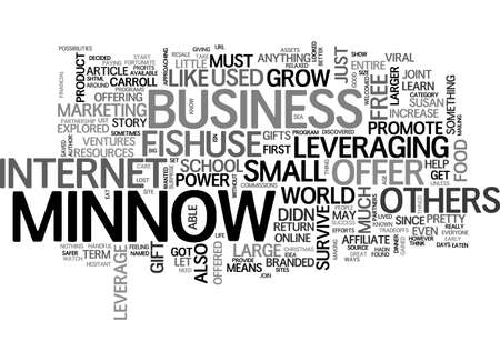 A LITTLE FISH STORY TEXT WORD CLOUD CONCEPT