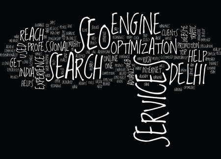 GIVE A BIG HIT TO YOUR WEBSITE Text Background Word Cloud Concept