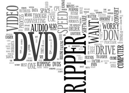 JACK THE DVDRIPPER COMES BACK TO THE ST CENTURY Text Background Word Cloud Concept