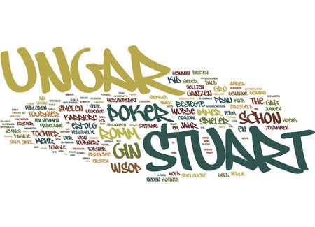 THE KID DIE LEGENDE DES STUART UNGAR Text Background Word Cloud Concept