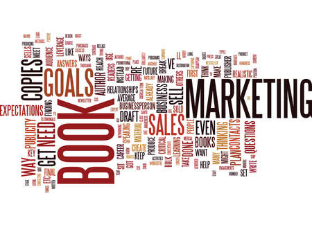 YOUR BOOK IS A BUSINESS Text Background Word Cloud Concept