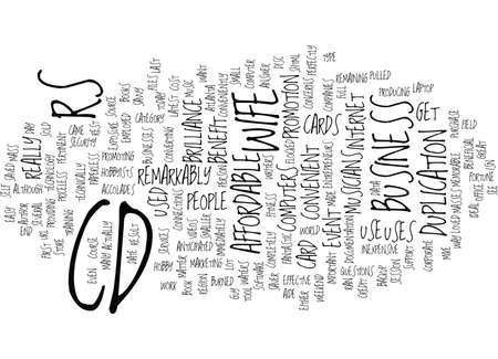 THE BRILLIANCE OF CD R Text Background Word Cloud Concept
