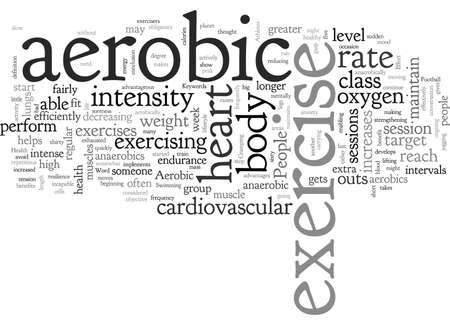 Illustration pour Cardiovascular Effort for Optimum Health - image libre de droit