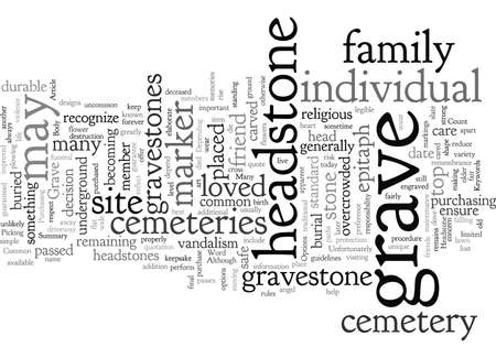 Common Options for a Grave Headstone