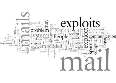 E mail Exploits A Major Problem