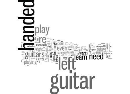 learn how to play the guitar left handed