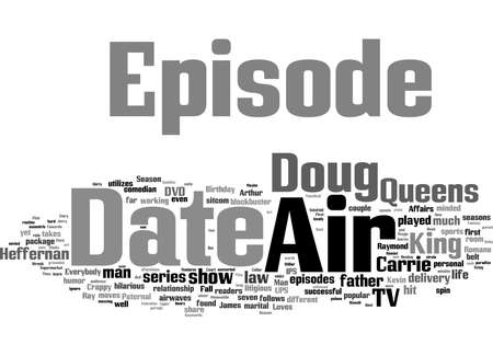 Photo pour Word Cloud Summary of article The King Of Queens DVD Review - image libre de droit