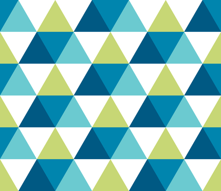 Illustration for Seamless geometric pattern. Seamless abstract triangle geometrical background. Infinity geometric pattern. Vector illustration. - Royalty Free Image