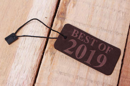 Photo pour Best of 2019, last year review in life, business, relation, and preparing for new year 2020 resolutions - image libre de droit