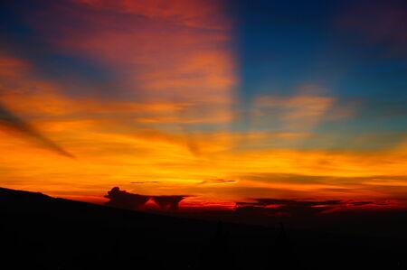 Sunrise on the hill