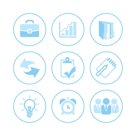 Icons for use with business ideas