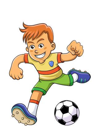 Soccer boy.
