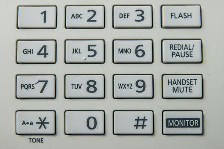 telephone pad