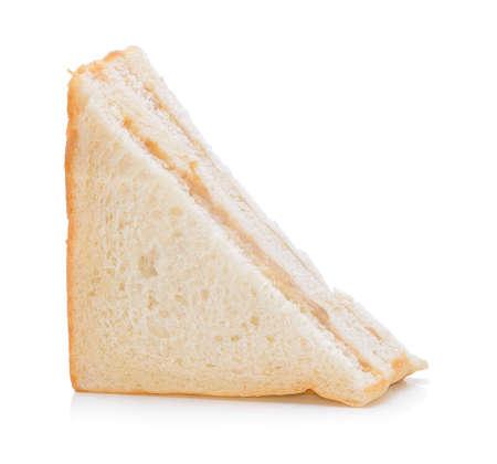 Photo pour tuna sandwich on white background - image libre de droit