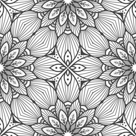 Illustration pour Seamless ethnic and tribal pattern - image libre de droit
