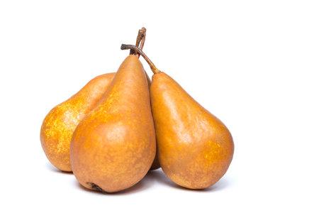 Foto für For ripe yellow pears isolated on a white background. - Lizenzfreies Bild