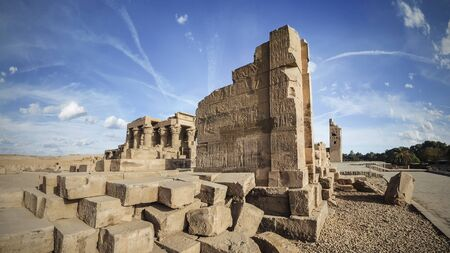 The temple of Kom Ombo in Egypt