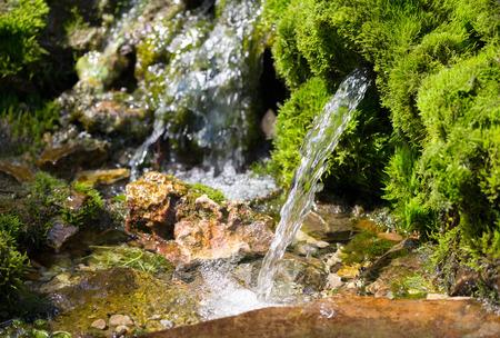 Photo pour source of spring water - image libre de droit