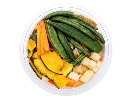 Mixture of dried vegetables