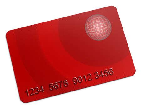 Membership Card on white background