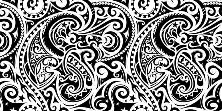 Illustration pour Seamless ethnic ornament - image libre de droit